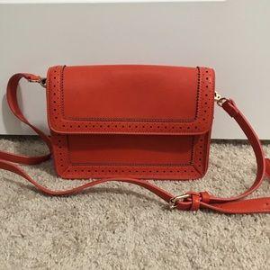 Orange purse from Francesca's